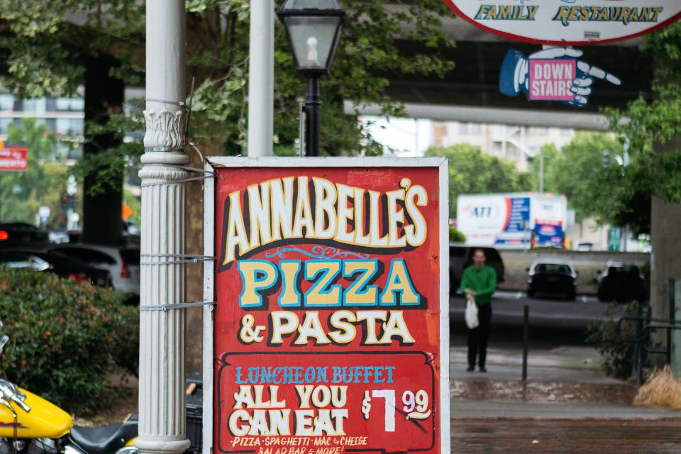 Annabelle S Pizza Pasta Old Sacramento Waterfront
